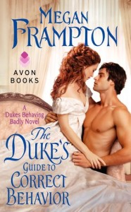 The Duke's Guide to Correct Behavior by Megan Frampton (A review)