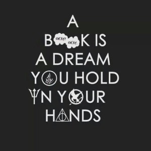 book dream hand